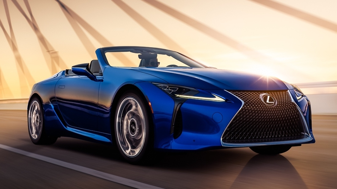 Zdjęcie Lexus LC Cabrio Regatta Edition Look New Face
