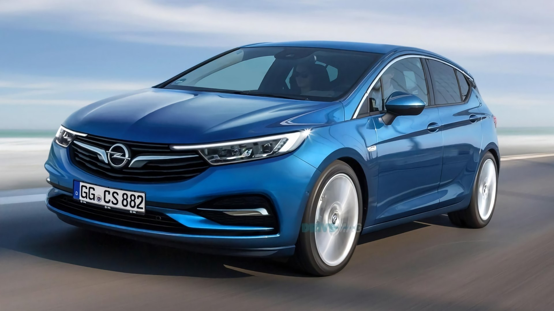 Zdjęcie Opel Astra 2021: First Look & Photos