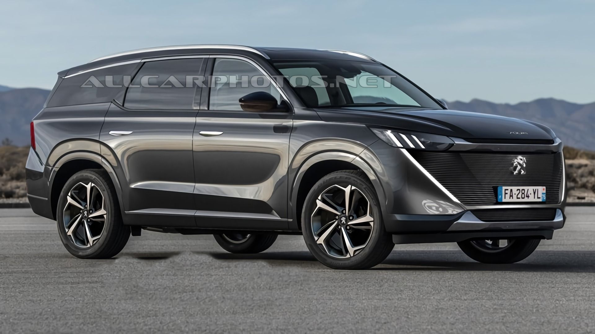 صورة Peugeot 7008: A large SUV coupe in preparation