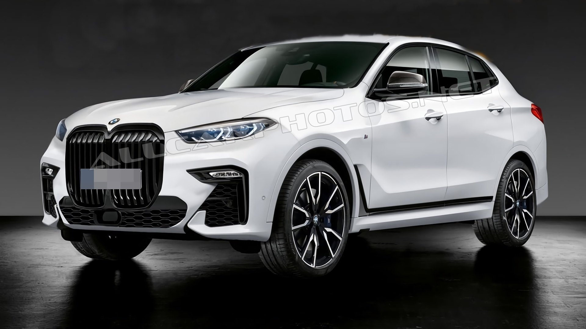 BMW X8 2021: New details and new photos的照片