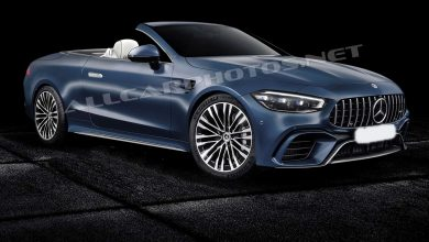 Mercedes SL 2021: It will be redesigned的照片