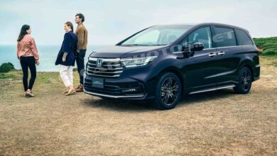 صورة Honda Odyssey 2021, tuning for Japan