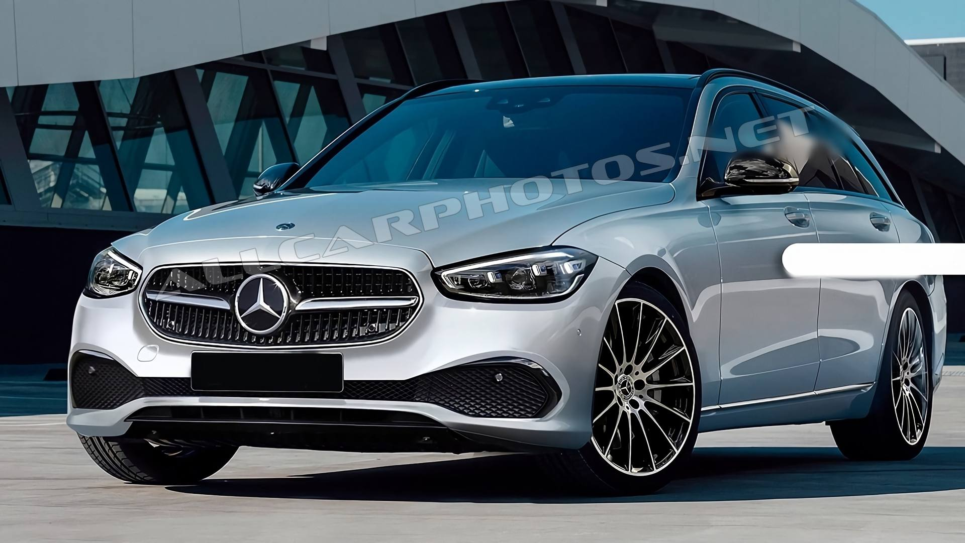 Mercedes C-Class 2021: (W206) Ready For its World Debut的照片