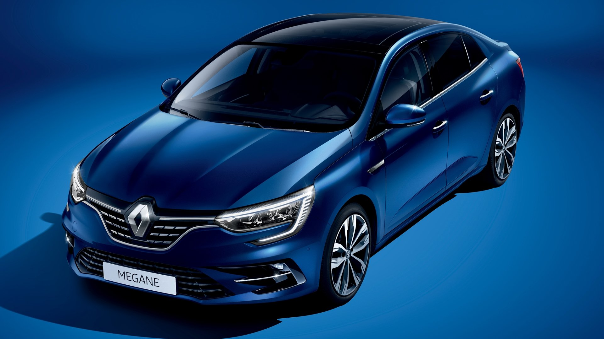 Renault Megane Sedan 2021: New Look & New Tech的照片