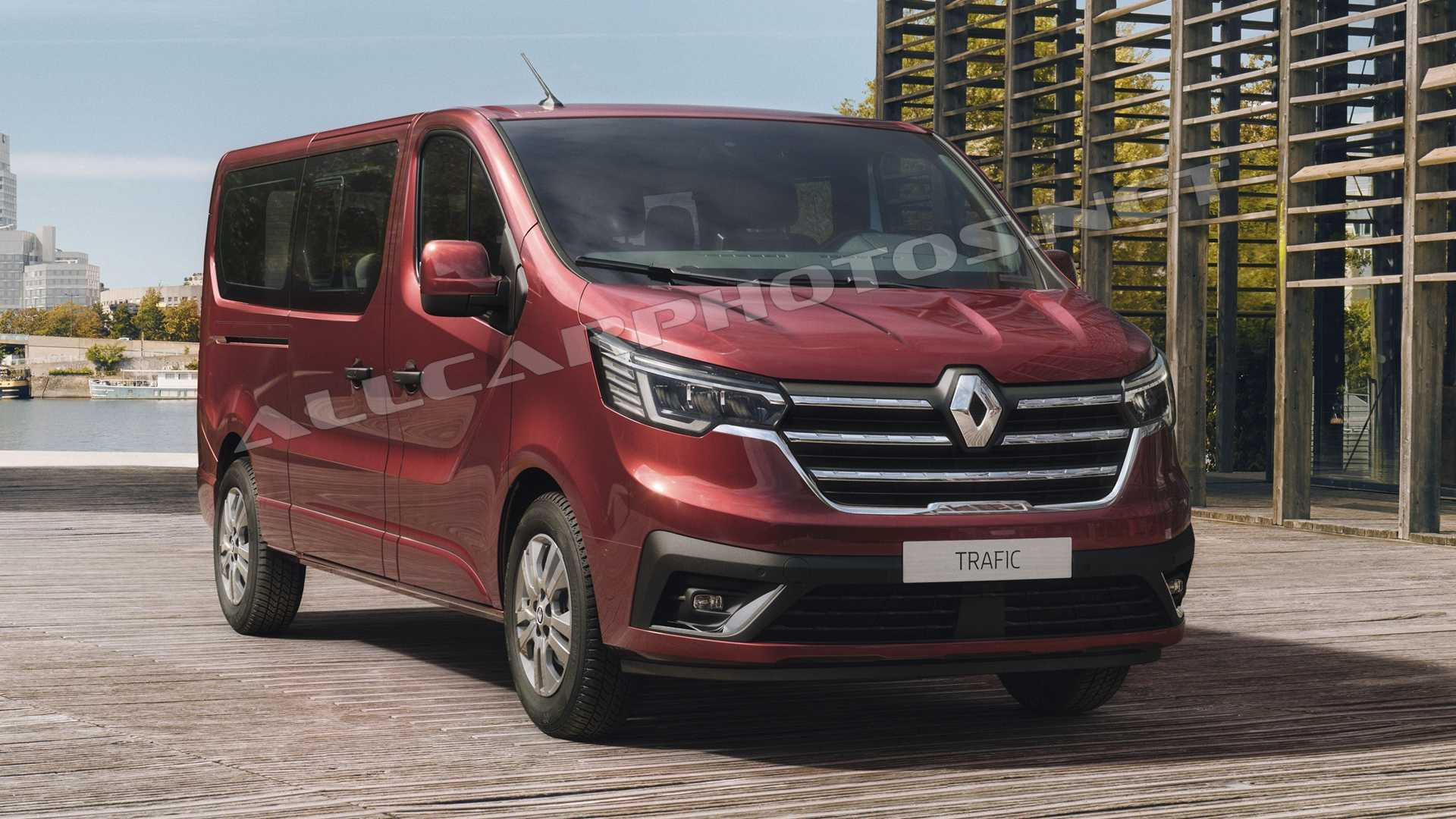 Renault Trafic 2021: It was debuts with its renewed face की तस्वीर