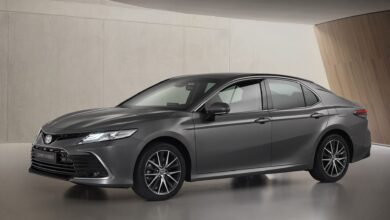 Foto van Toyota Camry Hybrid 2021: Fresh Look & New Tech