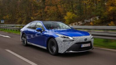 Zdjęcie Toyota Mirai 2021: Driving Reports & Photos