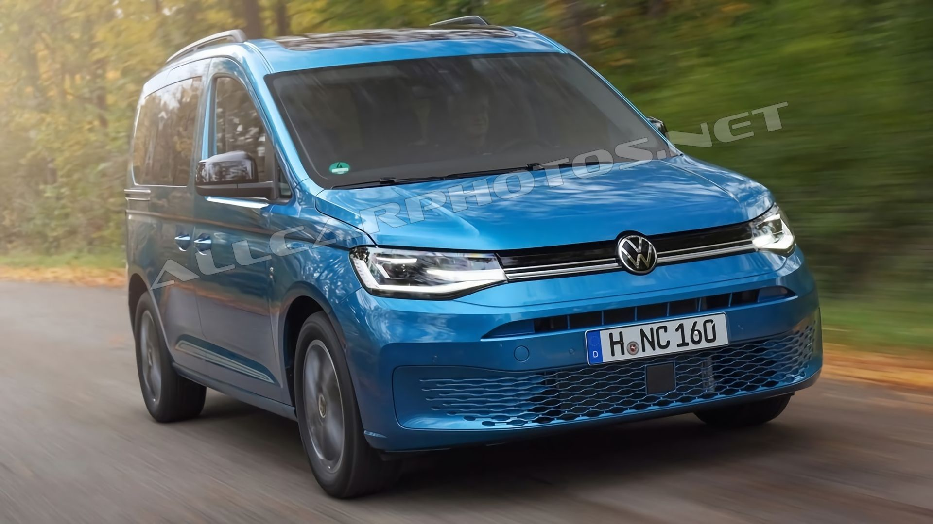 VW Caddy 2021: Driving Report  for MQB Platform的照片