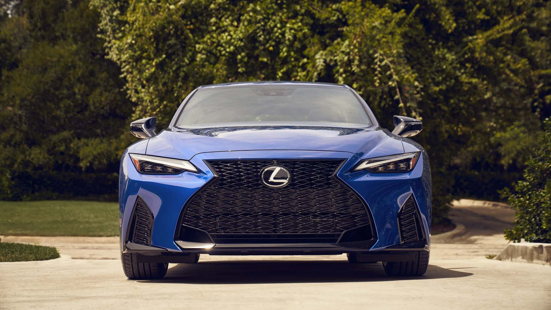 Blue Lexus IS 2021