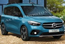 Zdjęcie Mercedes T-Class 2021: The new Citan changes its name
