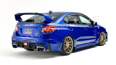 Foto di Modified Subaru Wrx Sti: $ 250,000 to modify it to the core