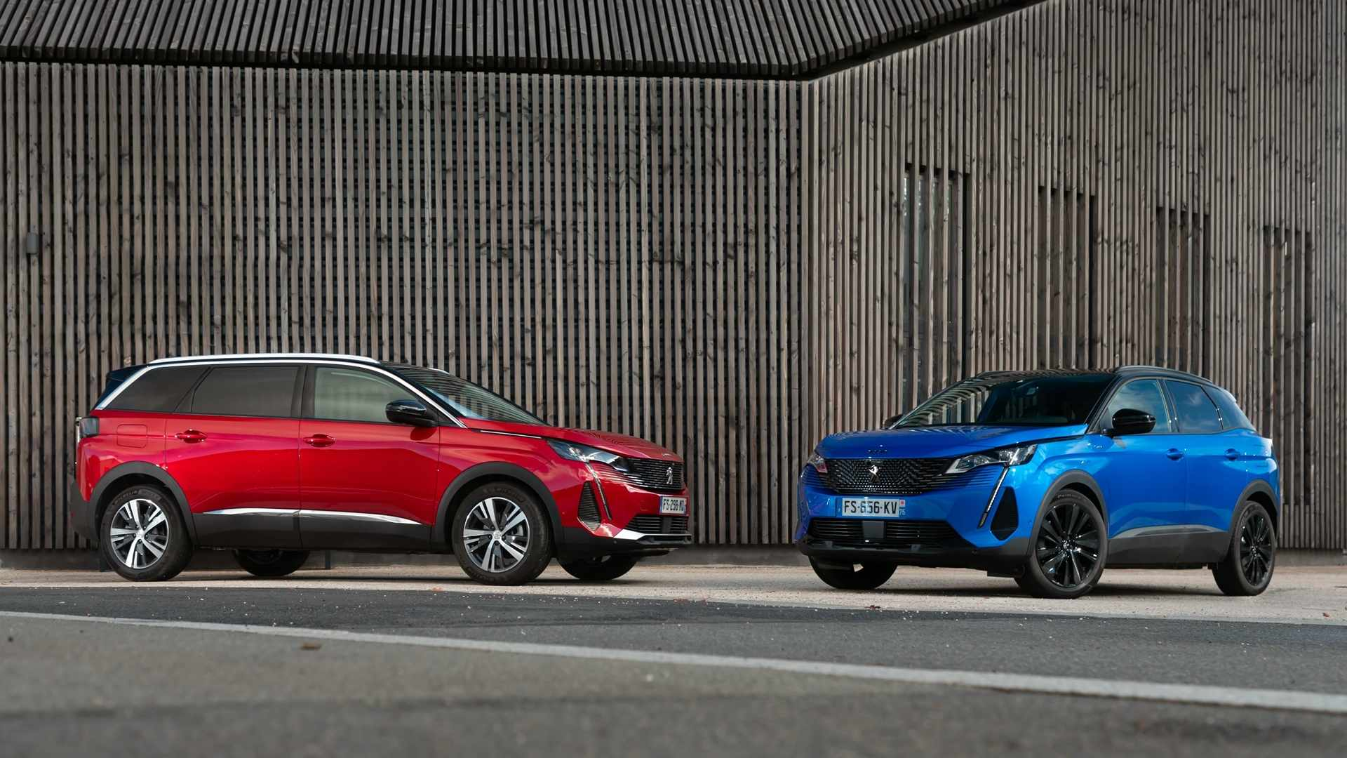 Peugeot 3008 and 5008 2021