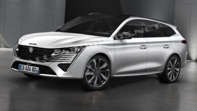 Photo de Peugeot 308 SW 2021: First info on the new 308 station wagon