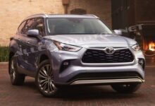 Zdjęcie Toyota Highlander 2021: Fresh Look and New Tech