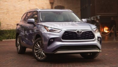 Bild von Toyota Highlander 2021: Fresh Look and New Tech