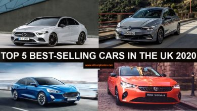 Photo de TOP 5 BEST-SELLING CARS IN THE UNITED KINGDOM 2020